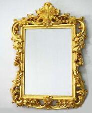 Miroirs muraux vintage/rétro rectangulaires pour la décoration intérieure