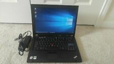"""Ibm Lenovo ThinkPad R61 14.1"""" T7100 1.80Ghz 2Gb 250Gb Hdd Windows 10 Dvd Wifi"""