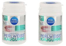 Orginal Perlweiss Kaugummi Vegan Ohne Zucker Aspartam Gluten Laktose 2x61g #609