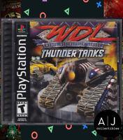 World Destruction League: Thunder Tanks (Sony PlayStation 1, 2000) PS1 Complete