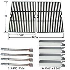 Replacement Burner,Heat plate,Cooking Grid forUniflame GBC850W GasGrill 4 Burner