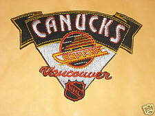 VINTAGE VANCOUVER CANUCKS NHL PATCH 4""