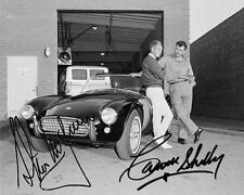 Steve McQueen and Carrol Shelby Signed Reprint 8x10 Photo 007