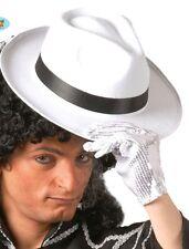 Carnevale Cappello Borsalino,Al capone,Michael Jackson,Blues brothers g13507