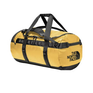 The North Face Golden State Duffel Bag Waterproof Size Small Mustard Yellow NWT
