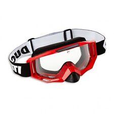 Ducati Scott Explorer Endurobrille Casco Occhiali Occhialini Rosso Nuovo