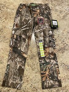 *NEW* Realtree Edge Cargo Pant Flex Fabric YOUTH Size M (8) 6 Pocket