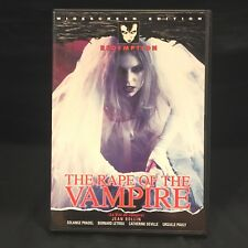 THE RAPE OF THE VAMPIRE 1968 Jean Rollin (DVD Redemption 2002) LIKE NEW!