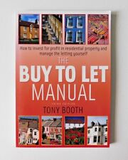 THE BUY TO LET MANUAL Third Edition by Tony Booth (Paperback Book, 2007)