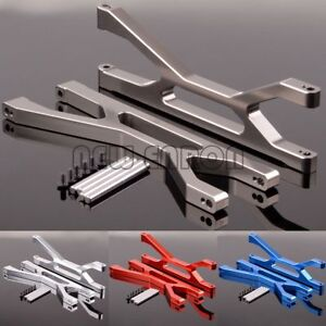 Aluminum Suspension arms upper (Front / Rear) For RC 1/5 Traxxas X-Maxx 77076-4