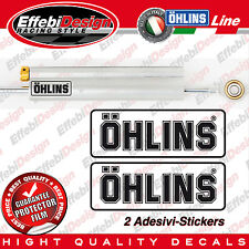 Adesivi/Sticker OHLINS ammortizzatore sterzo damper Ducati Aprilia Ktm Honda