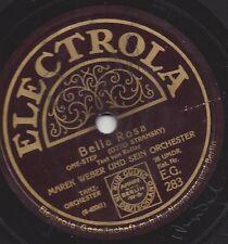 Orchester Marek Weber 1927 : Bella Rosa + Parlez-Vous francais ?