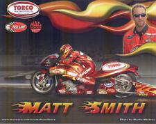2006 Matt Smith Torco Buell XB9R Pro Stock Motorcycle NHRA postcard