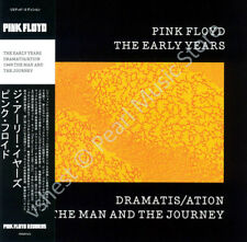 PINK FLOYD THE EARLY YEARS: DRAMATIS/ATION 1969 MAN AND JOURNEY CD MINI LP OBI