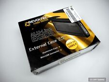 Revoltec RS075 External Case, USB 2.0, SATA-150 2.5 Gehäuse extern, LED, NEUWARE