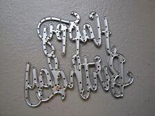 Stampin up Happy Birthday Thinlits Framelits Dies lot of 1