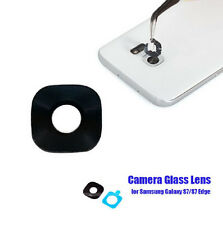 Camera Lens Glass for Samsung Galaxy S7 / S7 Edge Replacement & Adhesive Sticker