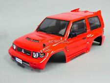 RC Crawler Truck Body Shell 1/10 MITSUBISHI PAJERO EVO 275mm -FINISHED- RED