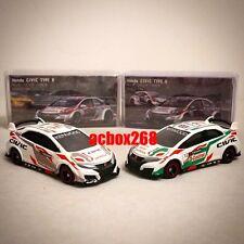 TOMY TOMICA Honda Civic Type R Racing CAR 1/64 DIECAST 2pcs RARE