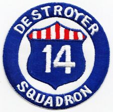 Destroyer Squadron  14   DESRON-14      USN Original Period Piece Japanese Mfgd