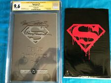 Superman #75 Bagged - DC - CGC SS 9.6 NM+ -Signed by Brett Breeding, Dan Jurgens