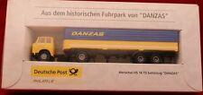 """**BREKINA** Henschel HS 16 TS Sattelzug """"DANZAS"""" 1:87** Deutsche Post neu + ovp."""