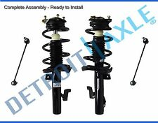 Both (2) Complete Front Strut Assembly + (2) Sway Bar End Links for Mazda 3 & 5