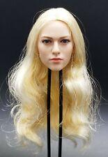 "1:6 Kimi Toys Female Blond Headsculpt 004 12"" BBI Phicen Hot Toys TBLeague"