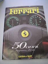 FERRARI 50 anni - Programma Ufficiale - Corriere dello Sport/Stadio, 1997