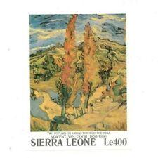 VINTAGE CLASSICS - Sierra Leone 1384 - Van Gogh - Souvenir Sheet -MNH