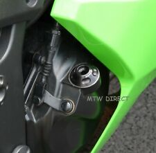 RD Moto Oil Filler Cap in BLACK for  Kawasaki ZX6-R (2005 - 2006 C1H C2H)