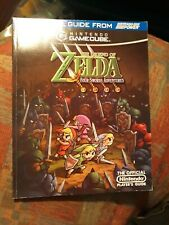 Nintedo Power Legend Of Zelda Four Swords Strategy Guide with poster