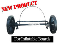 ISUP INFLATABLE paddle board carrier SUP Wheels Evolution  X bike trailer