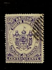 BRITISH COMMONWEALTH-NORTH BORNEO ,COAT OF ARMS 1886-90 /50 !CENTS/SCARE!!!!