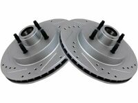 For 1987-1993 Ford Mustang Brake Rotor Set Front 94255PF 1988 1989 1990 1991