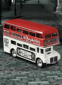 🆕 2021 Matchbox Routemaster Bus 🟩 IN HAND Exclusive True Grip Tires SOLD OUT❗️