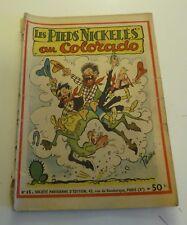 NOV9 --  LES  PIEDS NICKELÉS   N° 15   édition originale 1950