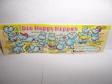RARE~BPZ~Les Happy Hippos~All~1988~Original~TOP