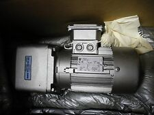Nord Motor with Gear Box 32612520/0326, .5 HP 3 PH 230/460V 1720 RPM - NEW