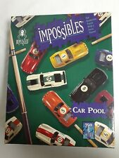 Impossibles Car Pool Puzzle Bepuzzled Borderless 750 + 5 Extra pieces Cars Cues