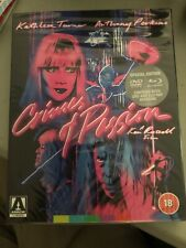 Crimes Of Passion Blu Ray/DVD With Slipcover Region Free Special Limited Edition