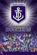AFL FREMANTLE DOCKERS POSTER (61x91cm)  PICTURE PRINT NEW ART