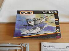 Modelkit Matchbox Fairey Seafox  on 1:72 in Box