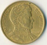 COIN / CHILE / 10 PESOS 1996    #WT8943