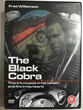 Fred Williamson NEGRO COBRA ~ 1987 EURO CULTO/ITALIAN Acción SUSPENSE GB DVD