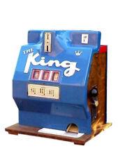 The King Slot Machine vintage plastica anni '60 completa meccanica rarissima
