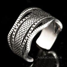 Silberring Silber 925 Ring  Verstellbar Offen R0633 🧢 flexibel, schick modern