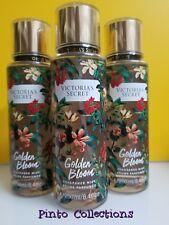 Victoria Secret GOLDEN BLOOM Fragrance Body Mist, Spray Splash  8.4 oz fl 1 bot.