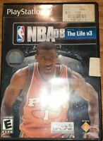 NBA 08 Featuring The Life V3 PS2 Sony PlayStation 2 Video Game Disc Only TESTED