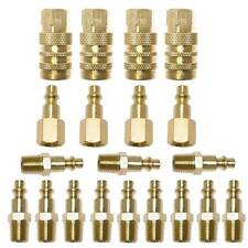 "(20) 1/4"" NPT Brass Coupler Quick Connect Set Air Compressor Hose CH440B-KIT2"